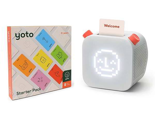 Yoto Kids Music Player with Sleep Trainer, Clock and LED Nightlight