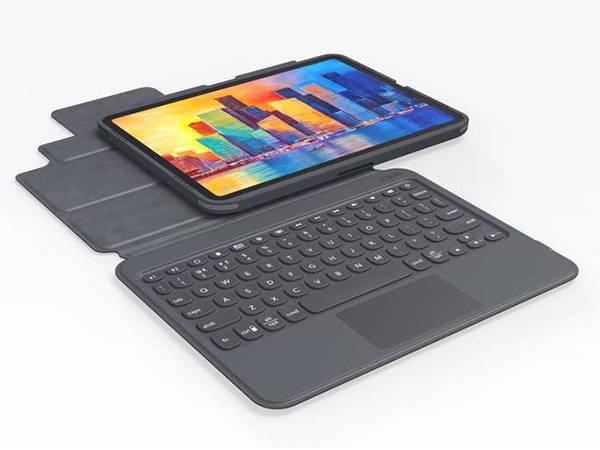 ZAGG Pro Keys 10.2-Inch iPad Keyboard with Trackpad and Detachable Case