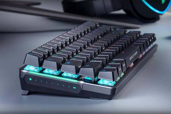 ASUS ROG Falchion 65% Wireless Mechanical Gaming Keyboard with Side Touch Panel