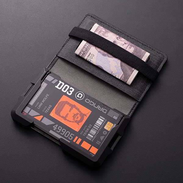 Dango D03 Dapper Bifold EDC Wallet with RFID Blocking