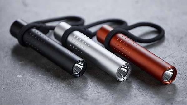 F.100 EDC Flashlight and Power Bank with IPX6 Waterproof Rating