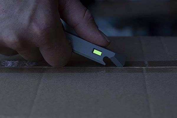 Glow Rhino EDC Titanium Multitool with Self-Powered Tritium
