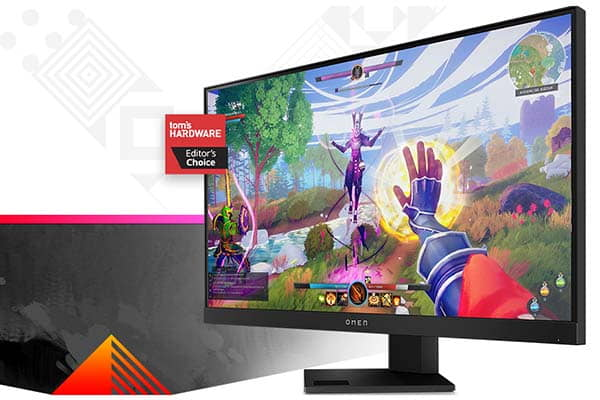 HP OMEN 25i Gaming Monitor with 165Hz Refresh Rate and 1ms Response Time