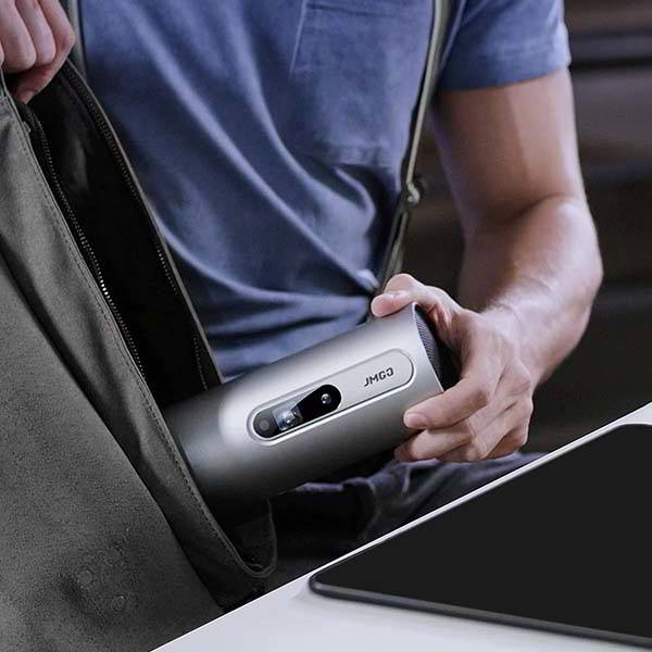 JMGO Explorer Portable Smart Projector with Dual 3W Speakers