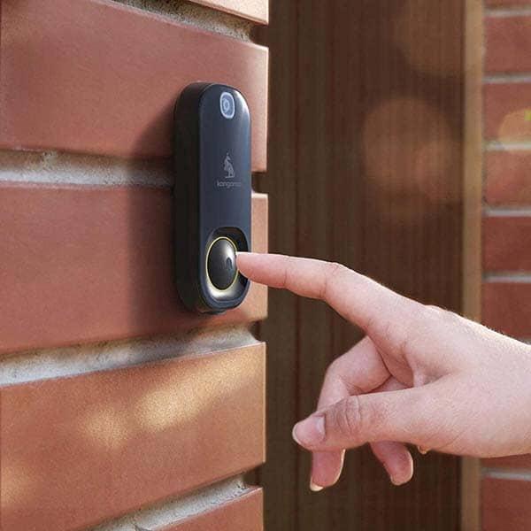 Kangaroo Smart Photo Doorbell with Indoor Chime