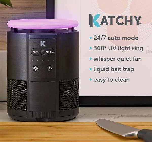 Katchy Duo Automatic Indoor Fly Trap