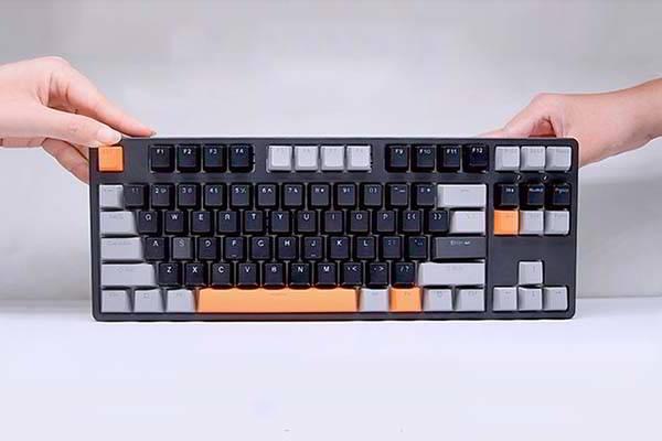 Keytion Tenkeyless Wireless Mechanical Keyboard with RGB Backlit