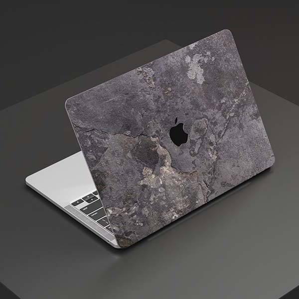 ROXXLYN Handmade Real Slate MacBook Skin