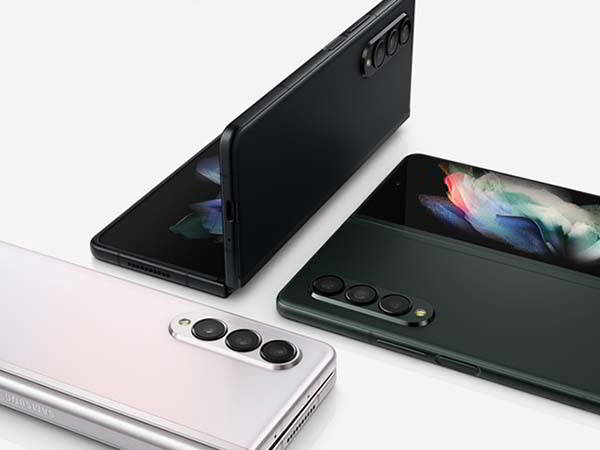 Samsung Galaxy Z Fold 3 5G with a 7.6-Inch Main Display