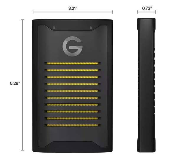 SanDisk G-Drive ArmorLock External SSD with 256-Bit Hardware Encryption