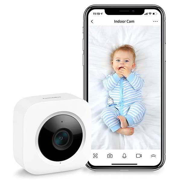 SwitchBot Indoor Security Camera Supports Amazon Alexa