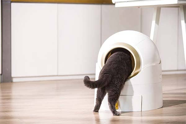 WoofN Meow Semi-Auto Litter Box with Deodorization and Antibacterial Module