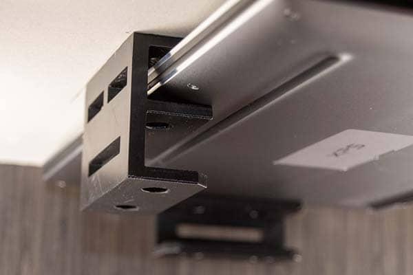 3D Printed Double-Slot Under Desk Laptop Mount