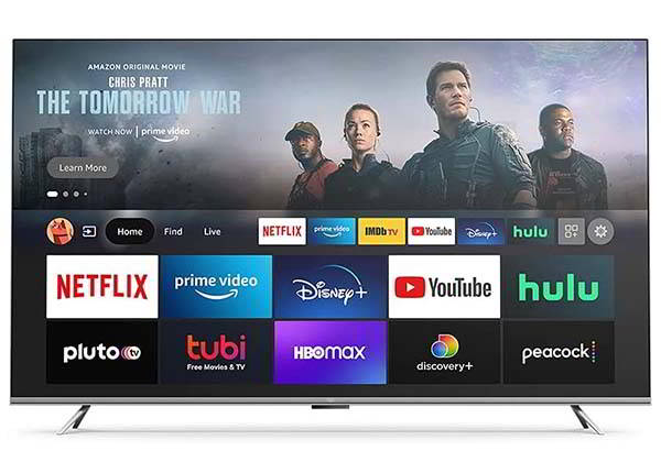 Amazon Fire TV Omni Series 4K Smart TV with Dolby Vision