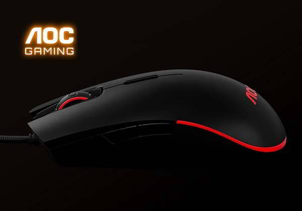 AOC GM500 RGB Gaming Mouse in Ambidextrous Design