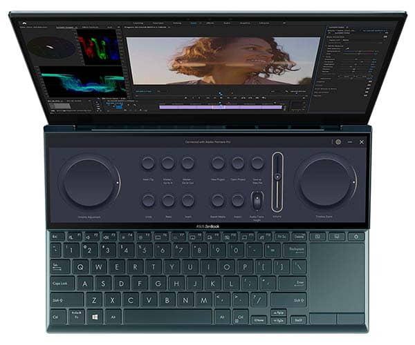 ASUS ZenBook Duo 14 UX482 Dual-Screen Laptop