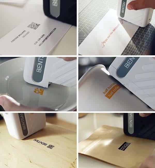 Bentsai B10 Mini Printer with WiFi Connectivity