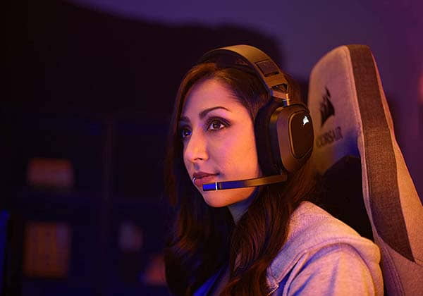 Corsair HS80 RGB Wireless Gaming Headset with Dolby Atmos