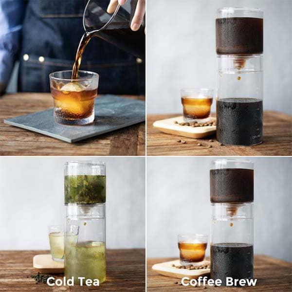 Driver 2-In-1 Cold-Drip & Cold-Brew Coffee Maker