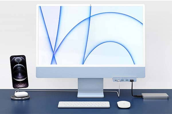 HyperDrive 5-In-1 USB-C Hub for iMac 24-Inch