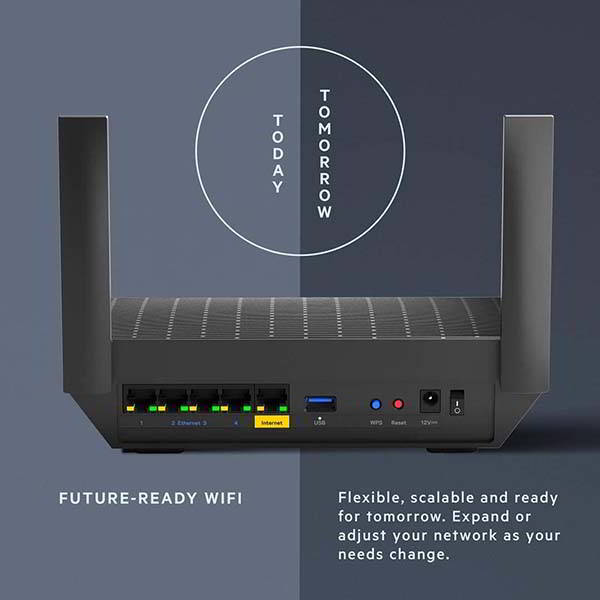 Linksys MR7310 AX1500 Smart Mesh WiFi 6 Router with USB 3.0 Port