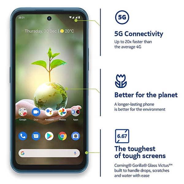 Nokia XR20 5G Smartphone with IP68 Waterproof and Dustproof Rating