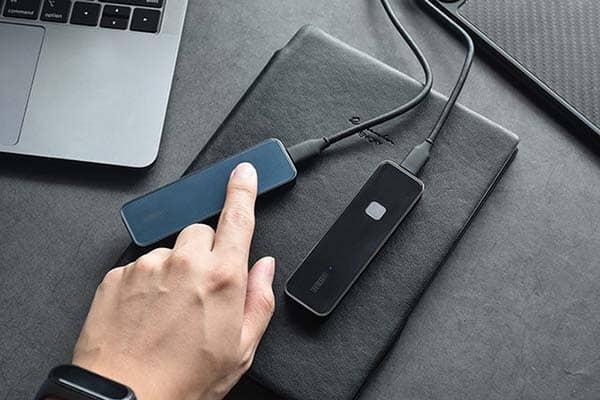 OneModern S8 Portable SSD with Fingerprint Scanner