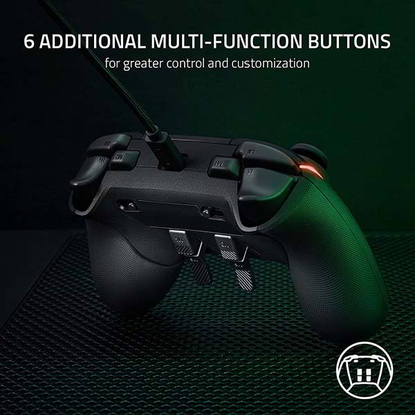 Razer Wolverine V2 Chroma Wired Gaming Controller for Xbox Series X S, Xbox One and PC