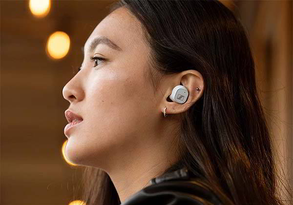 Sennheiser CX Plus True Wireless ANC Earbuds with IPX4 Water Resistance