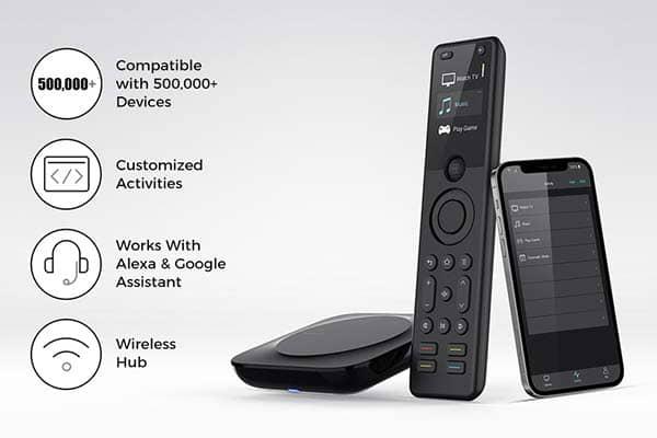 Sofabaton X1 Universal Smart Remote Control Supports Amazon Alexa and Google Assistant