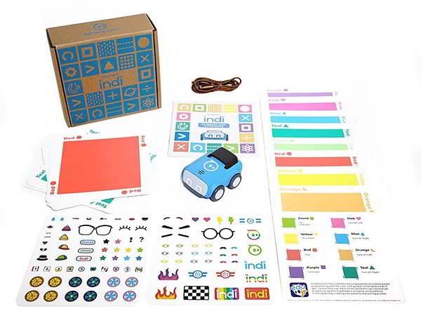 Sphero Indi Screenless STEAM Learning Robot Kit for Kids 4+