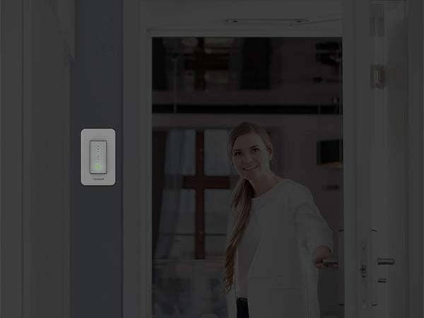 Tessan 3-Way Smart Dimmer Switch Supports Alexa and Google Home
