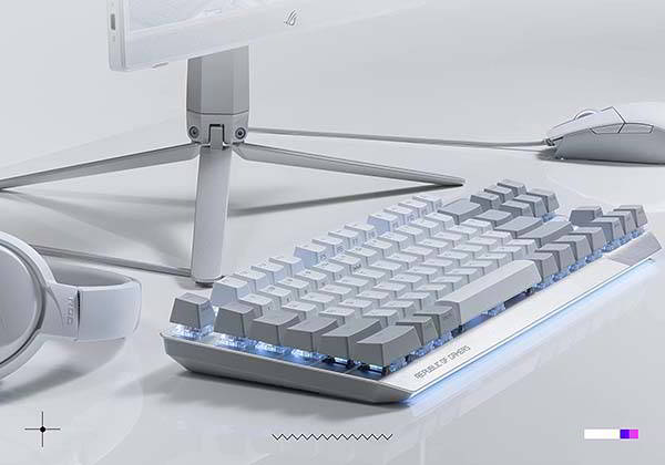 ASUS ROG Strix Scope NX 80% TKL Mechanical Gaming Keyboard with Aura RGB Lighting