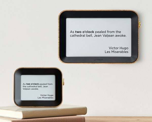 Author Clock Shows You Time by Literary Quotes