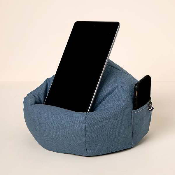 Beanbag Chair Phone and Tablet Holder