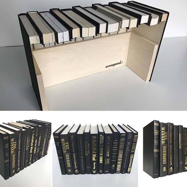 CovoBox v2 Handmade Hidden Book Storage Box