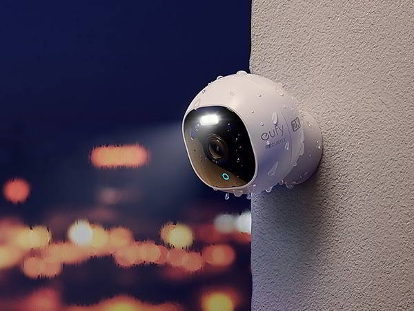 eufy OutdoorCam C24 2K Outdoor Security Camera with Spotlight and Color Night Vision