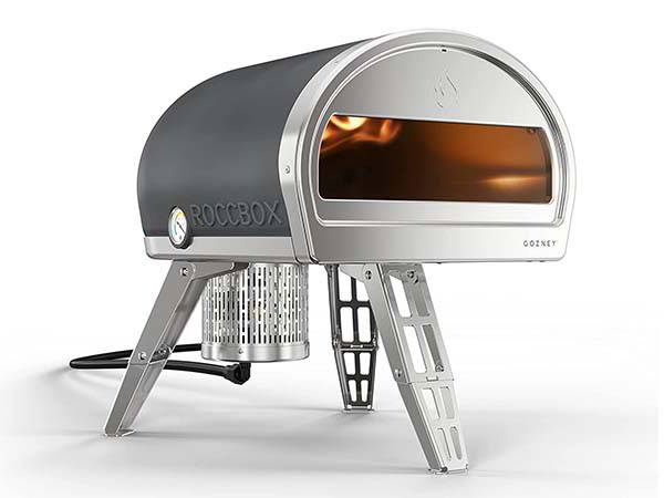 Gozney Roccbox Portable Outdoor Pizza Oven with Built-in Thermometer