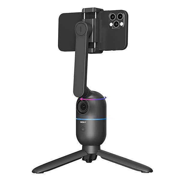OBSBOT Me AI-Powered Auto-Tracking Phone Mount for Vlogging, Streaming and More