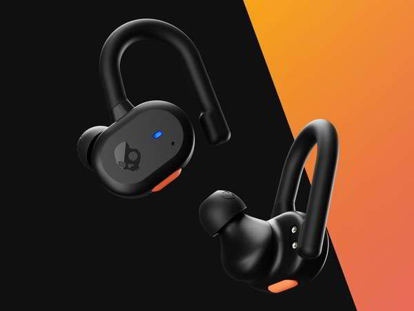Skullcandy Push Active True Wireless Bluetooth Earbuds with IP55 Water Resistance