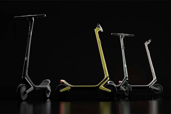 Unagi Model Eleven Foldable Smart Electric Scooter with Dual-Motor Design
