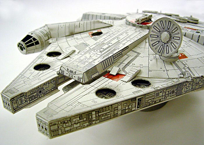 Make Your Own Papercraft Through Sf Paper Craft Gallery Gadgetsin