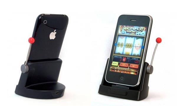 Jackpot Slots iPhone/iPod Dock - Gadgetsin