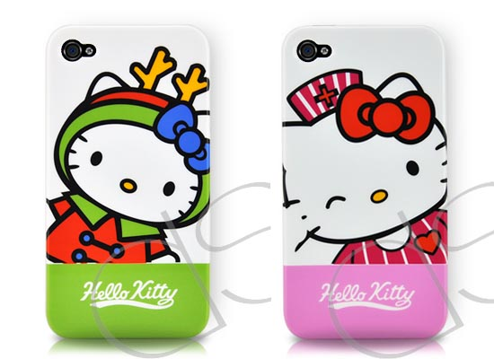 hello kitty iphone case hello kitty iphone 4 cases gadgetsin 8737