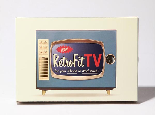 Retro Fit TV Case for iPhone and iPod touch   Gadgetsin