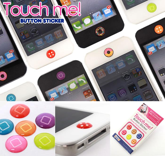 iphone home button sticker touch me home button stickers for iphone ipod touch and 15296