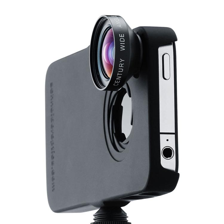 iphone camera lens ipro lens system for iphone 4 and 4s gadgetsin 11688