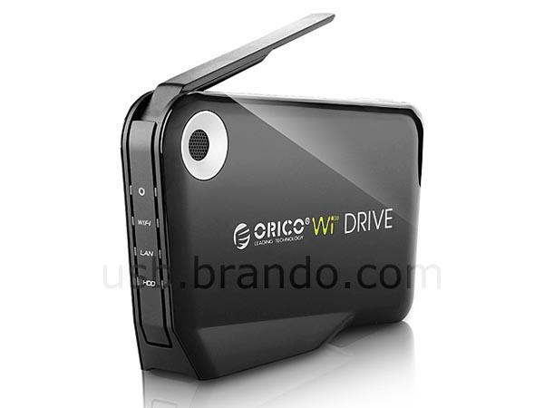 Orico Wireless Hard Drive Enclosure | Gadgetsin
