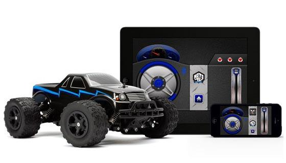 Cool Truck Accessories >> Griffin MOTO TC Monster App Powered RC Car | Gadgetsin