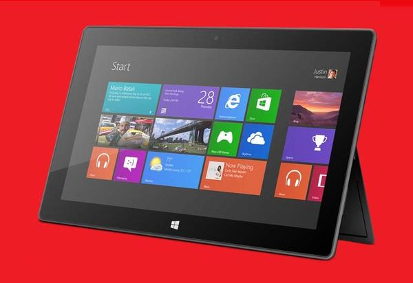 Microsoft Surface RT tablets available on Windows 8 launch